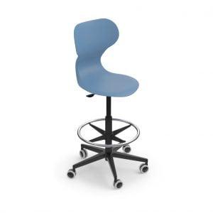 MIA stool blue