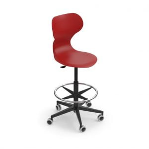 MIA Stool red