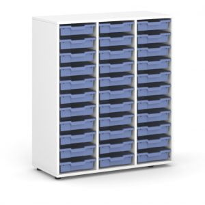 633-501 VICTORY 33 Trays Blue