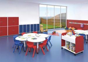 Mirplay children's classroom
