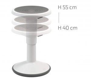 lance stool adjustable height