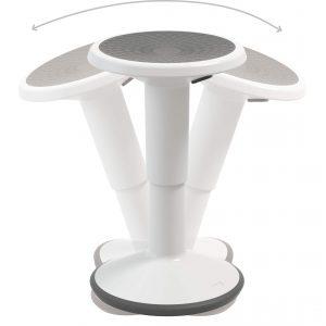 lance stool rounded base